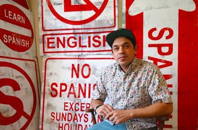 Assistant professor Rogelio Gutierrez
