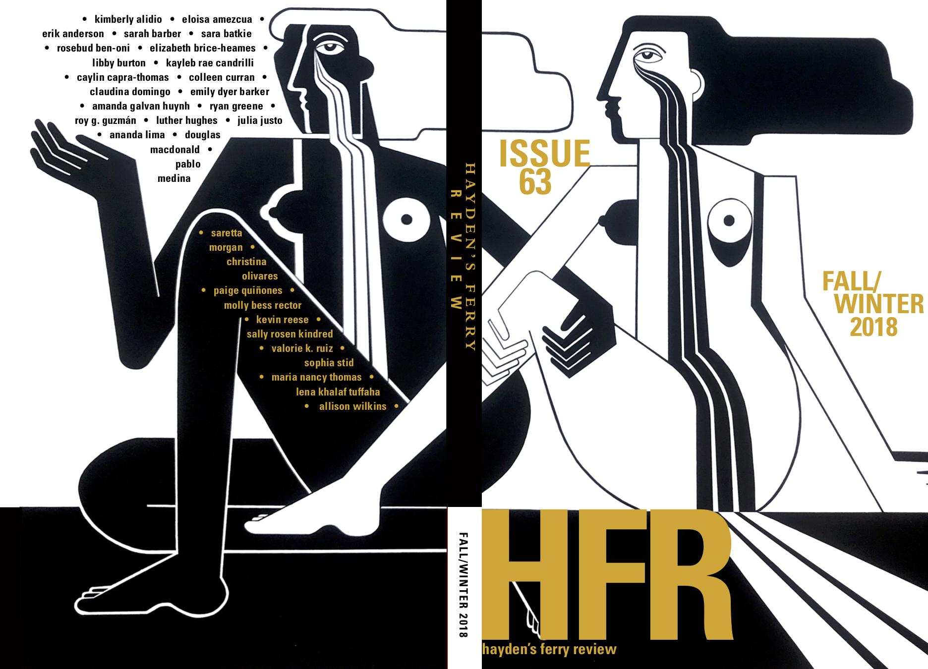 Full cover of Hayden's Ferry Review issue 63