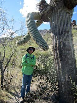 Hal Smith hiking