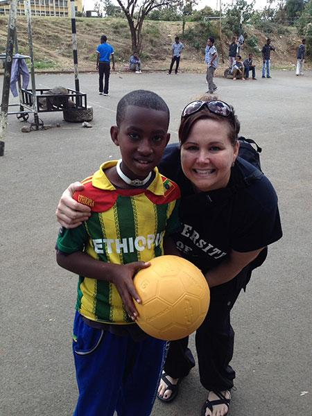 ASU Online student Jennifer Johnson visits Ethiopia to volunteer