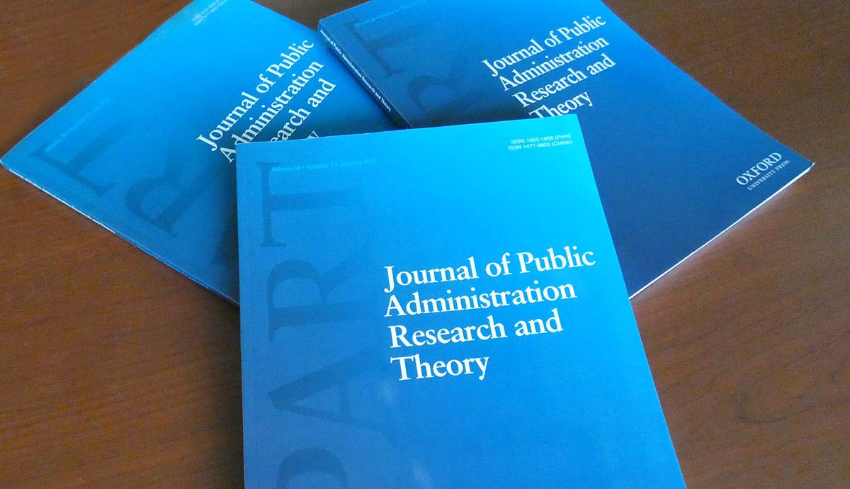 The Journal of Public Administration Research and Theory