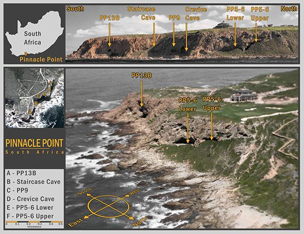 Pinnacle Point, Mossel Bay, South Africa