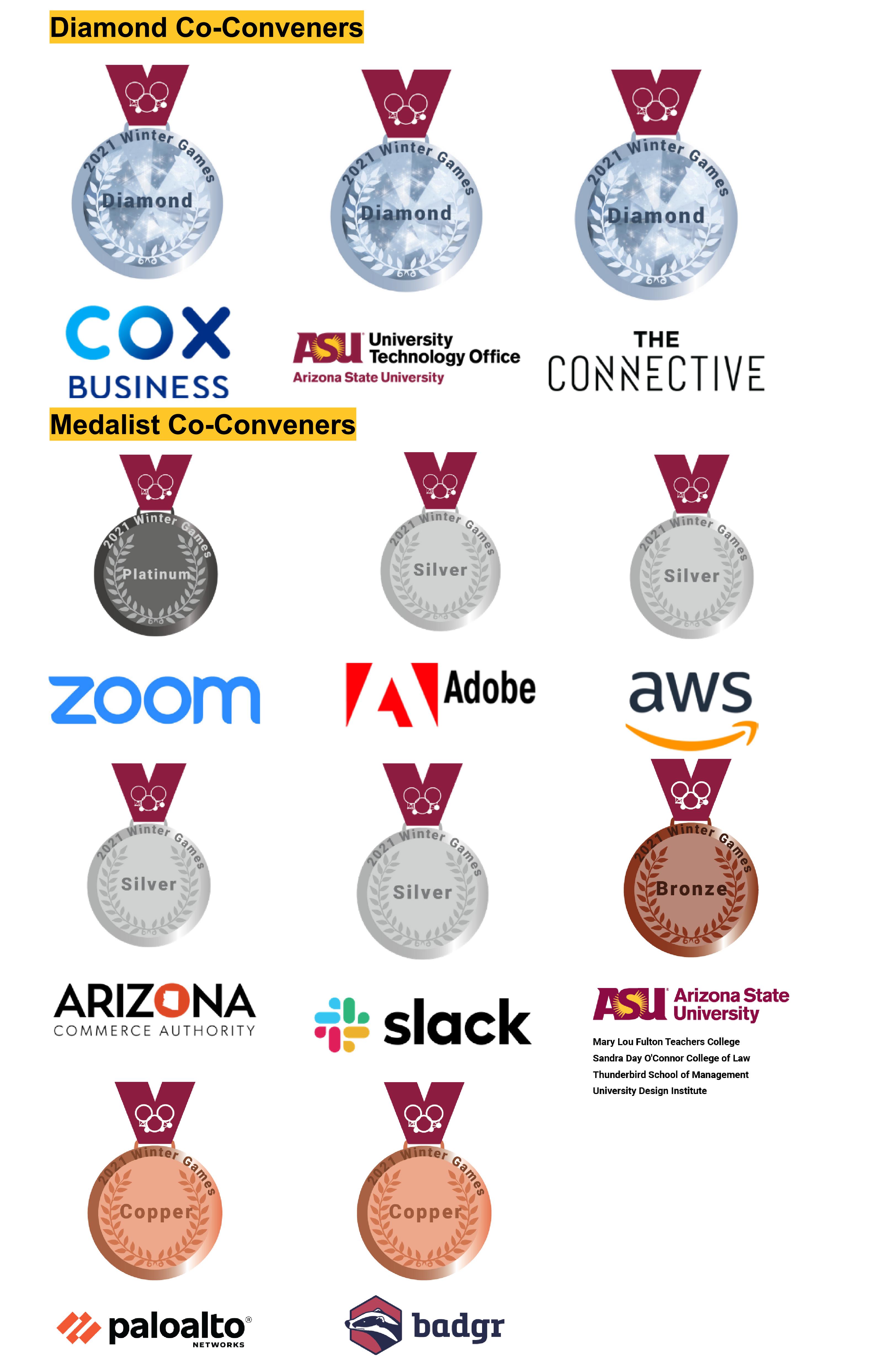 Winter Games Co-Conveners