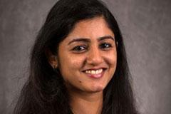 portrait of ASU grad Priya Nair
