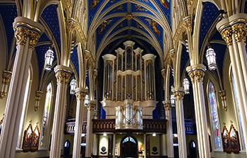Notre Dame Fritts Organ