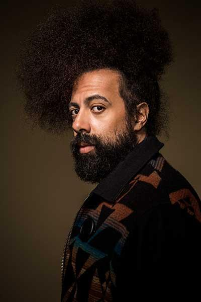 Vocal artist Reggie Watts