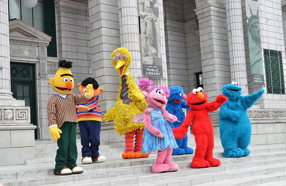Sesame Street- Universal Studios-Singapore Theme Park