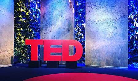 TED Talk theater