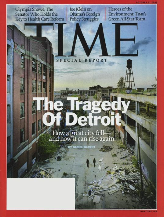 TIME Magazine The Tragedy of Detroit