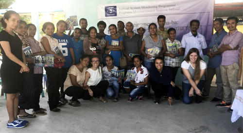 photo of students that participated in Timor-Leste internship