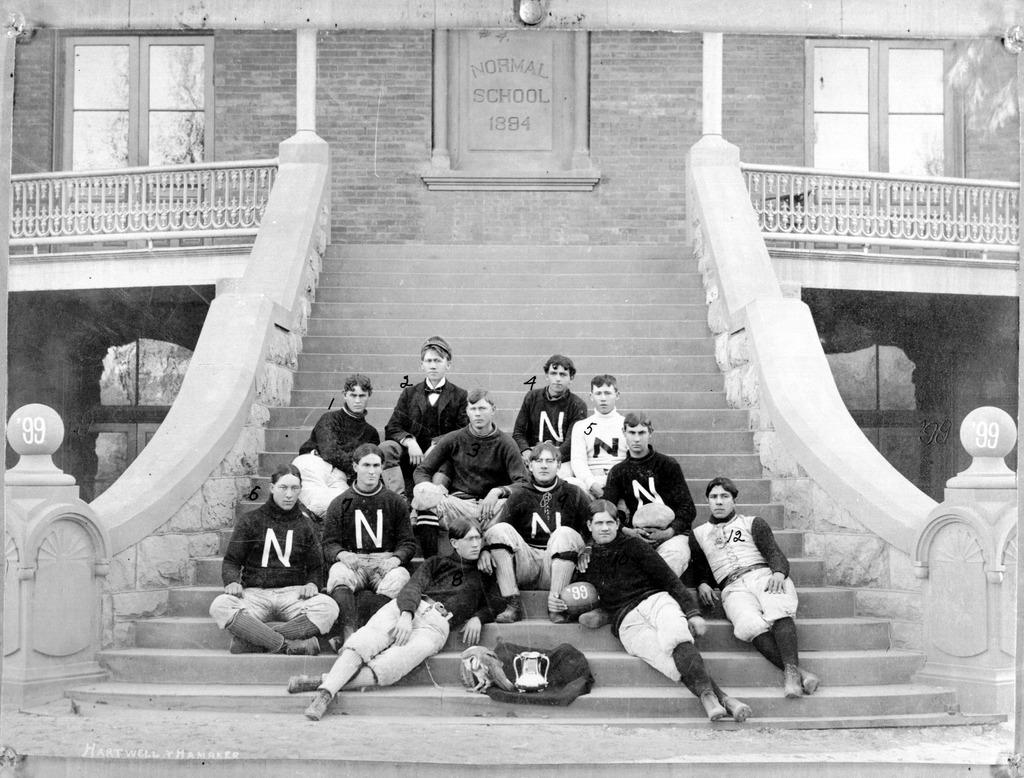 1899 Territorial Cup winning Tempe Normal School Football team