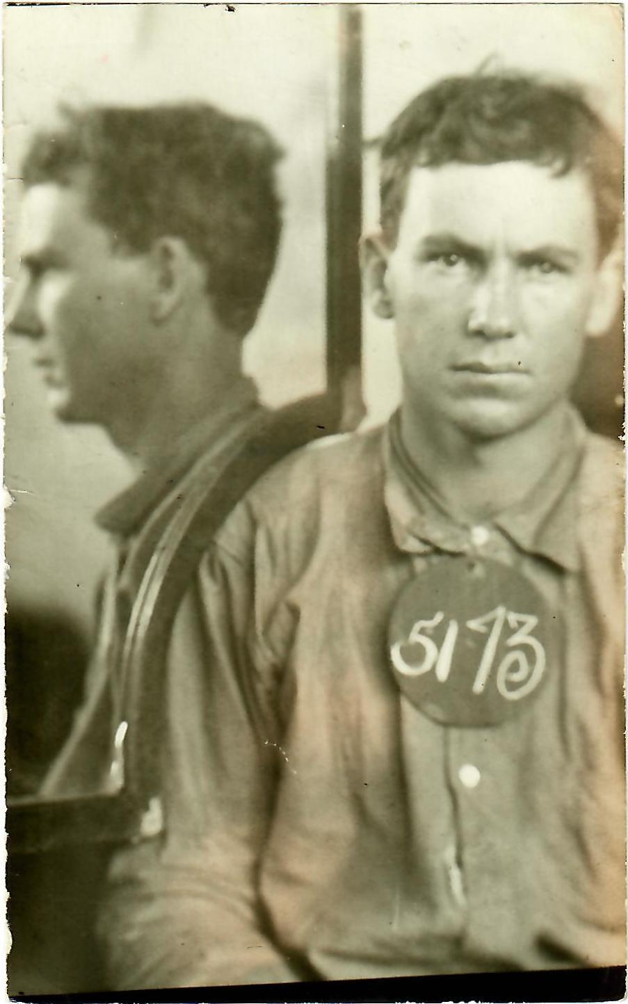 mug shot of Tom Powers