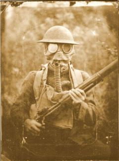 109th Infantry gas mask