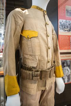 Rough Rider uniform, Tempe History Museum
