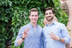 Soon-to-be ASU graduate twins Robert and Alexi Choueiri