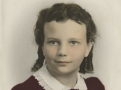 archived portrait of Sandra Day O'Connor as a child