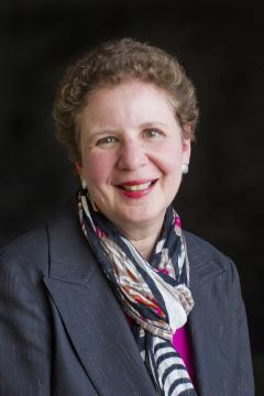 A photograph of Carole Basile, dean of the Mary Lou Fulton Teachers College