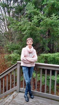 Beth Bockes at her home in Wisconsin.