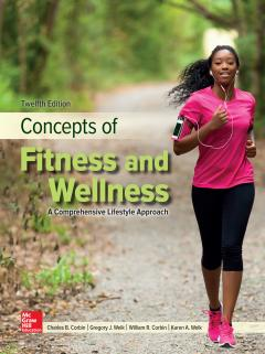 cover of a fitness book featuring a woman running down a pathway
