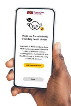 Daily health check app