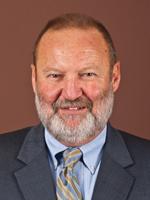 Man in beard smiling