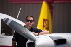 ASU aviation grad David Hutchens