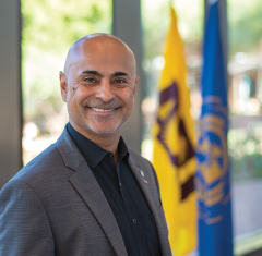 Dr. Sanjeev Khagram became Thunderbird's Dean and Director General in 2018