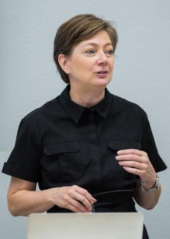 teaches a class at ASU fashion program