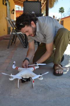 SOLS drone for film