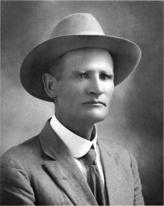 vintage photo of Frank McBride