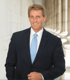 portrait of former U.S. Sen. Jeff Flake