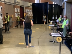 Vaccination site, Desert Financial Arena, volunteers, ASU, COVID-19