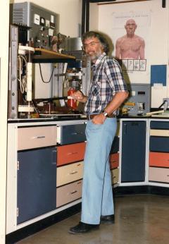 man in lab