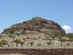 photo of La Quemada archaeological site