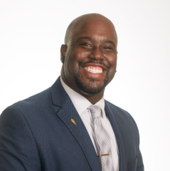 Marcus Jones, assistant director for special projects, College of Health Solutions, Watts College of Public Service and Community Solutions, alum