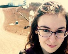 ASU astronomy grad Miranda Herman