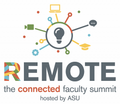 Remote: The Connected Faculty Summit logo