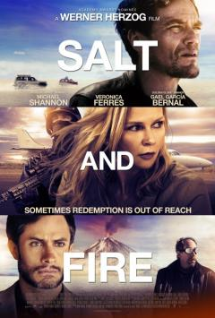 Movie poster for Salt and Fire.