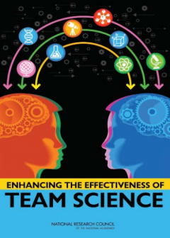 "book cover for ""Enhancing the Effectiveness of Team Science"""