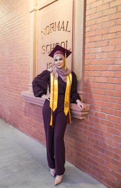 ASU SOLS graduate Tasneem Mohammed