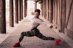 ASU dance MFA student Erika Moore
