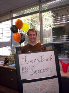 Zach Pirtle at CSPO Halloween Party at ASU in 2006
