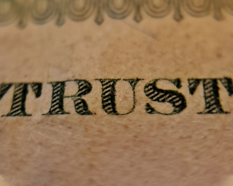 Image of the word Trust