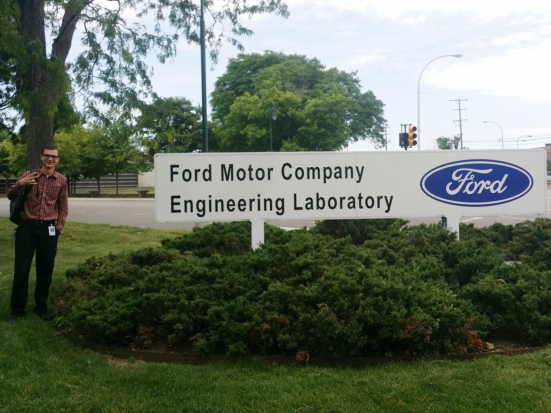 fulton engineering students gain hands on experience in On ford motor company internship