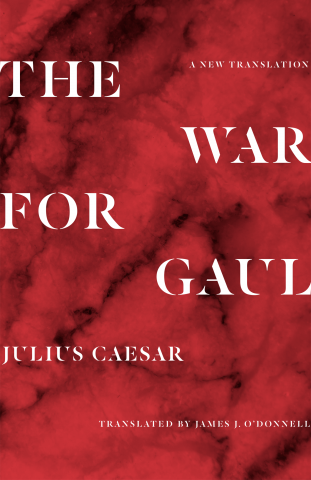 hardcover book: The War for Gaul