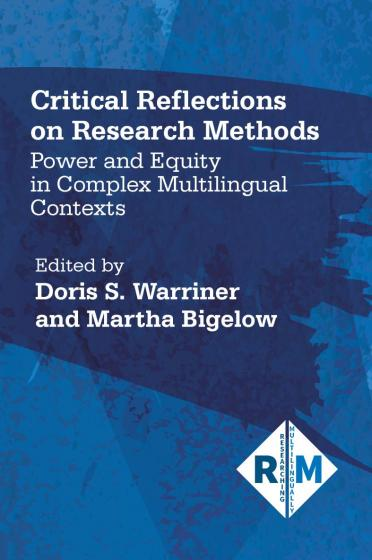 Cover of Critical Reflections on Research Methods co-edited by Doris Warriner