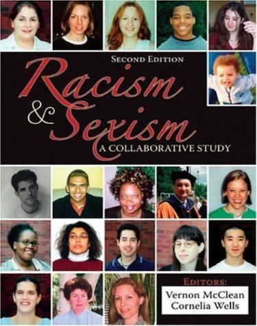 """Cover of """"Racism and Sexism"""" featuring a series of headshots of individuals"""